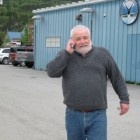 Buckwheat works the phones