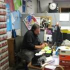 Eric Kocher works the phones