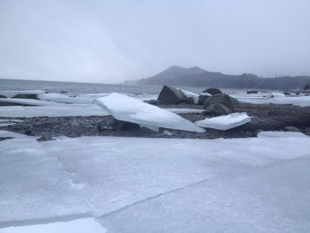 Chilkat River Ice breaking – Audio slideshow