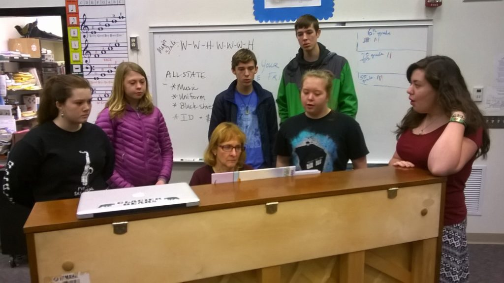 Six Haines students to sing in All-State Music Festival