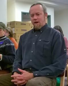 Science teacher Mark Fontenot.
