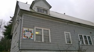 The current Chilkat Valley Preschool building.
