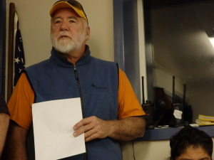 Resident Jim Sanford asked why the precedent of holding community activities at the school building couldn't continue without the school operating.