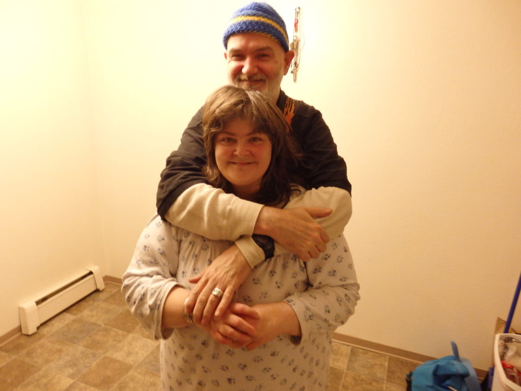 Homeless couple finds housing in Haines