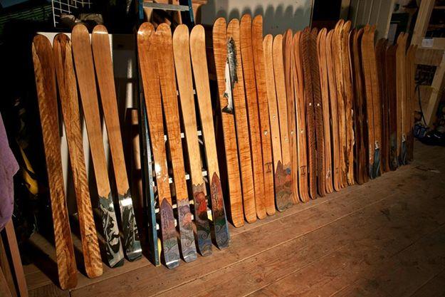 Fairweather Skiworks handmade skis.
