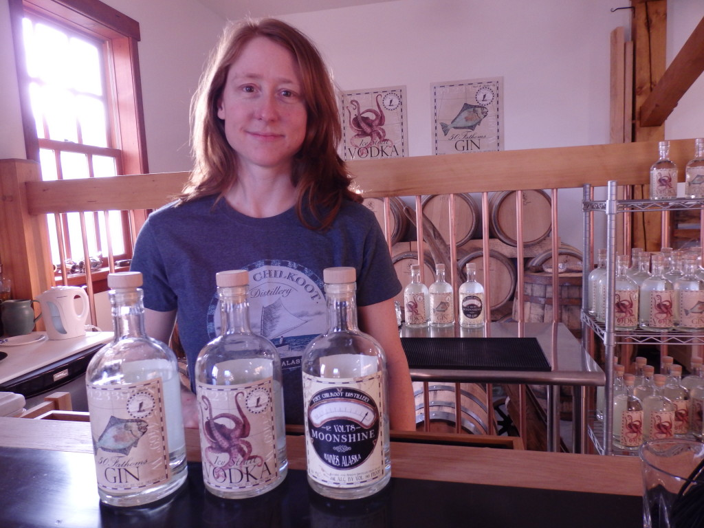 Port Chilkoot Distillery co-owner Heather Shade.