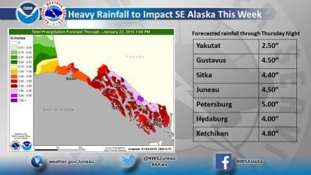 Heavy rains prompt landslide warning