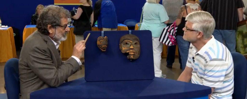 "Tlingit masks on ""Antiques Roadshow"" draw questions from Southeast Alaska"