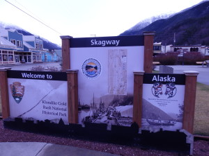 Skagway sign