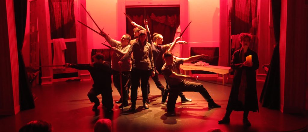 Theater in the Rough takes King Henry V to Haines