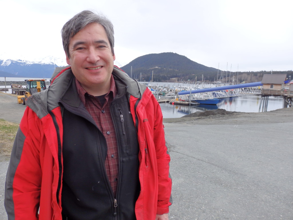 Rep. Sam Kito III in Haines.