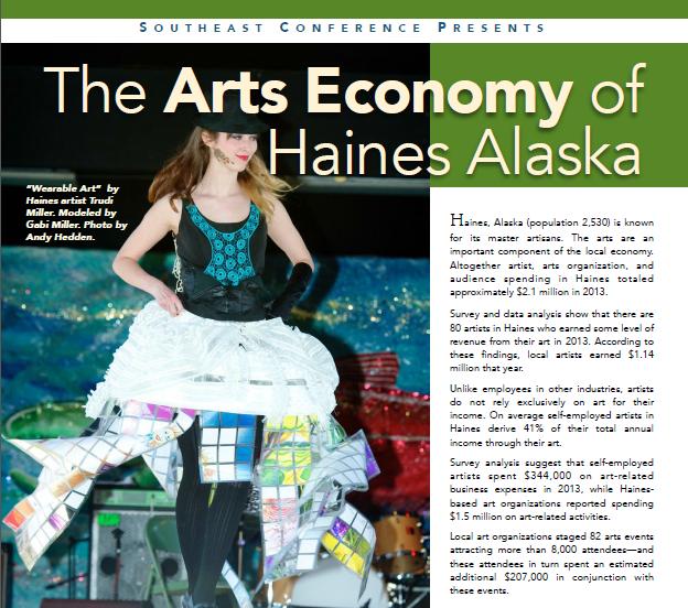 Study shows scope of Haines arts economy