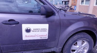 A HARK vehicle parked in Haines.