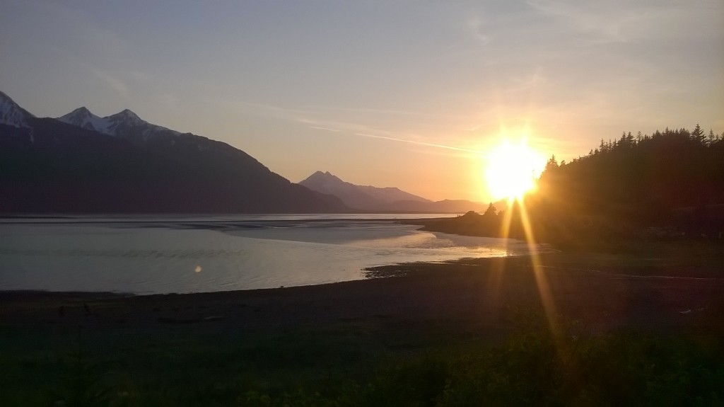 An end to a sunny May day in Haines. (Emily Files)