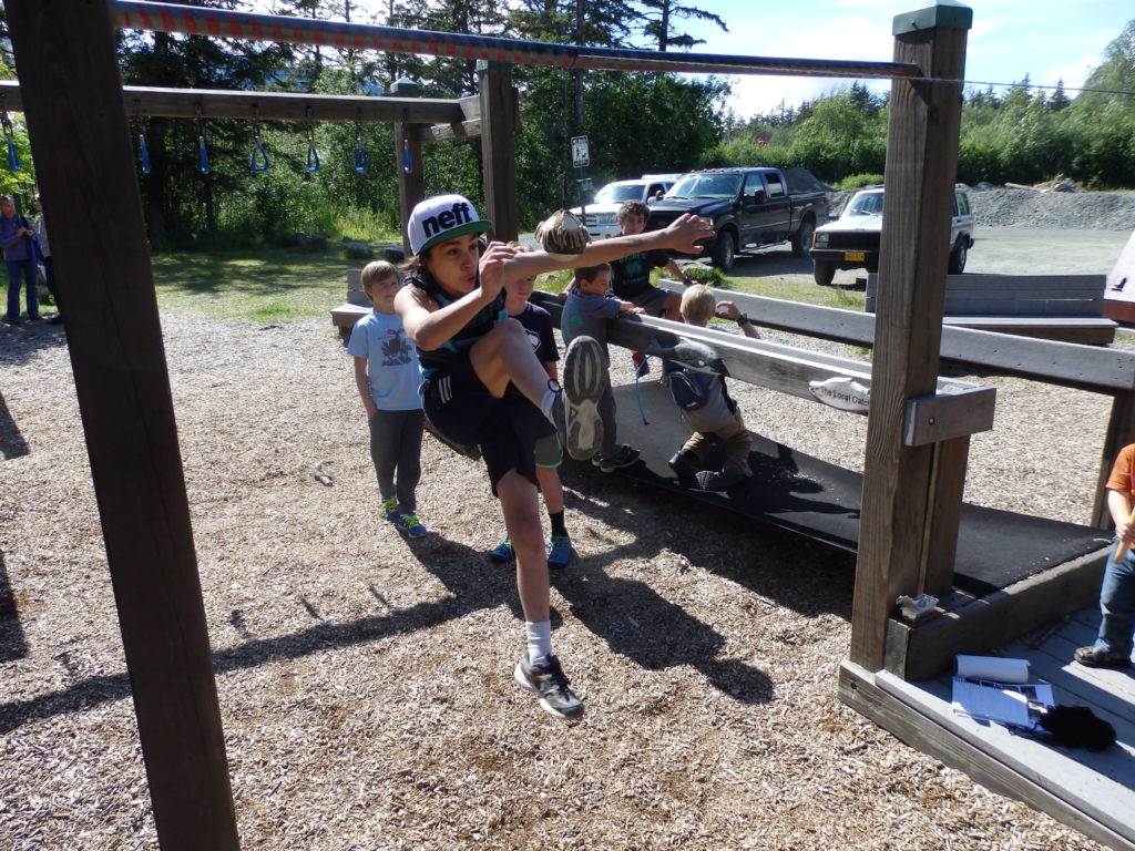 Haines Library holds Native Youth Games