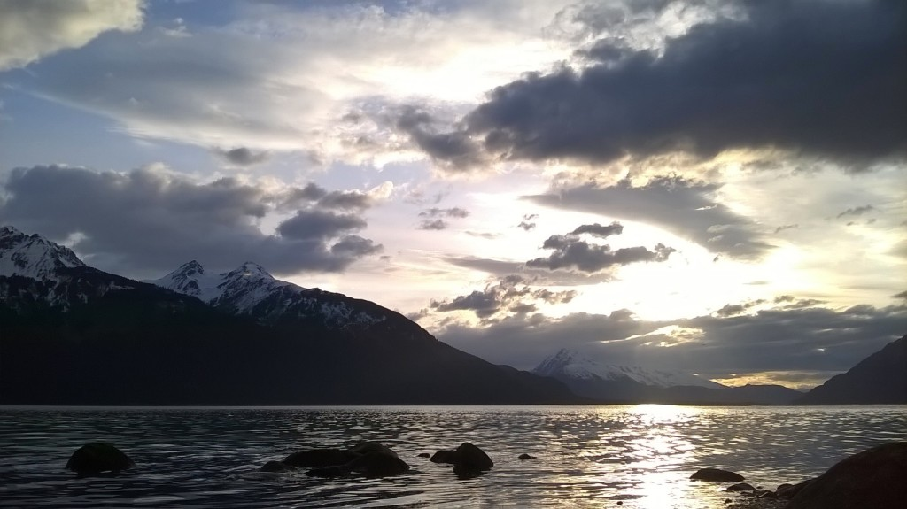 A Haines sunset in early May. (Emily Files)