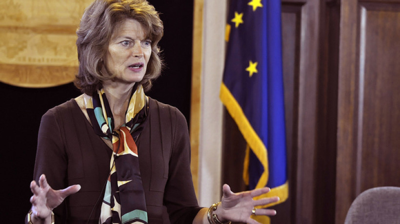Sen. Lisa Murkowski in 2014. (Skip Gray/KTOO)
