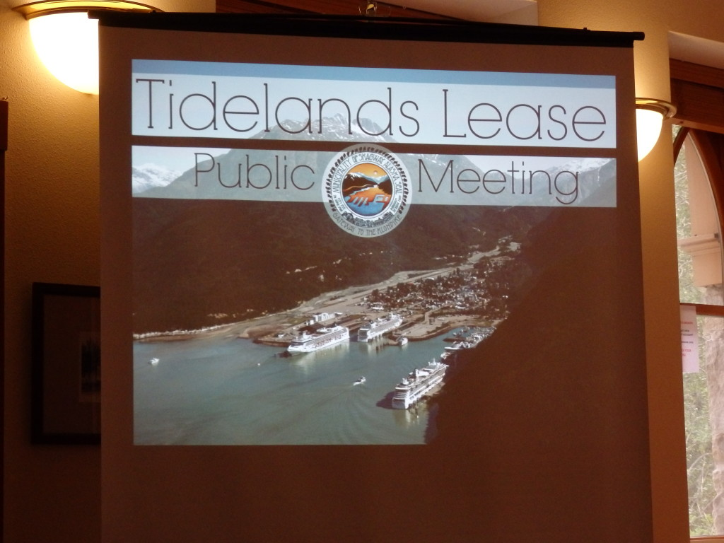 The municipality held public meetings on the tidelands lease proposed with White Pass.