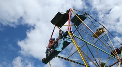 The ferris wheel. (Greta Mart)