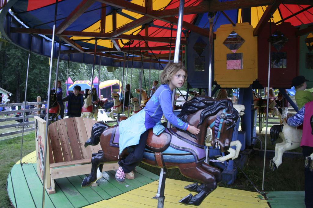 The ferris wheel is a longtime fair attraction. (Greta Mart)