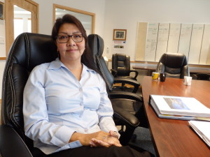 Harriet Brouilette is tribal administrator for Chilkoot Indian Association. (Emily Files)