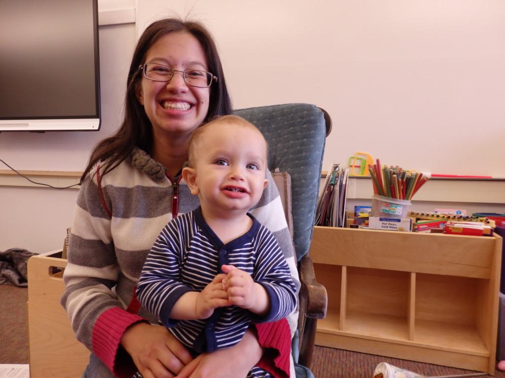 Kindergarten teacher Sue Ackerman. (Emily Files)