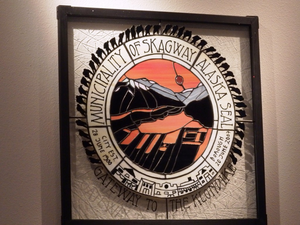 Municipality of Skagway seal. (Greta Mart)