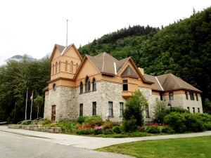 Skagway's city hall and museum. (Greta Mart)