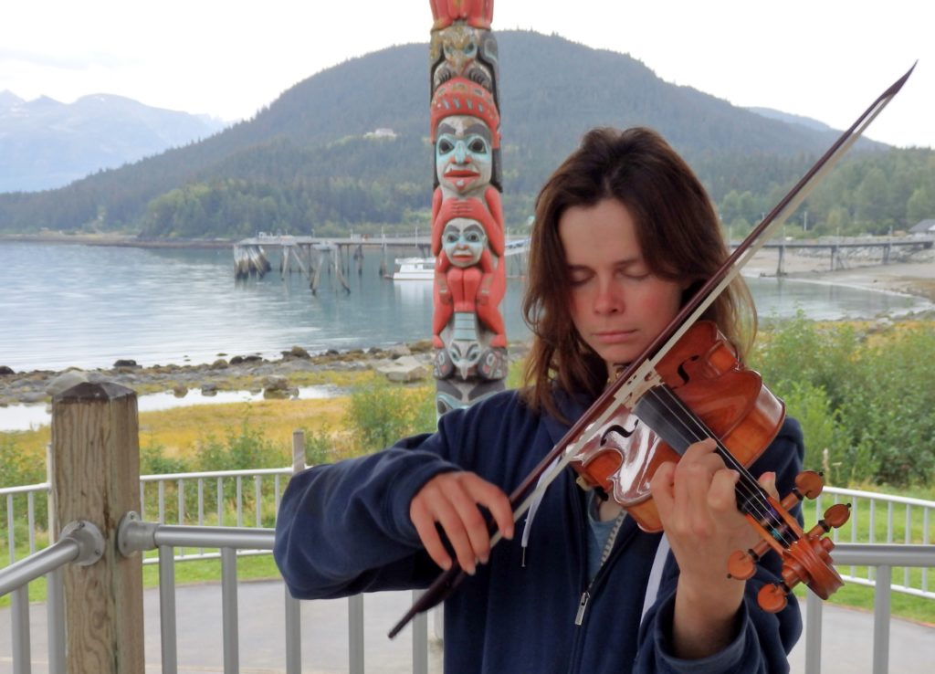 Kayaking violinist finds rhythm, peace in Inside Passage