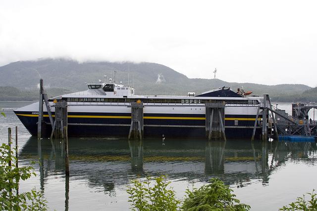 Summer schedule keeps Alaska's fast ferries sidelined