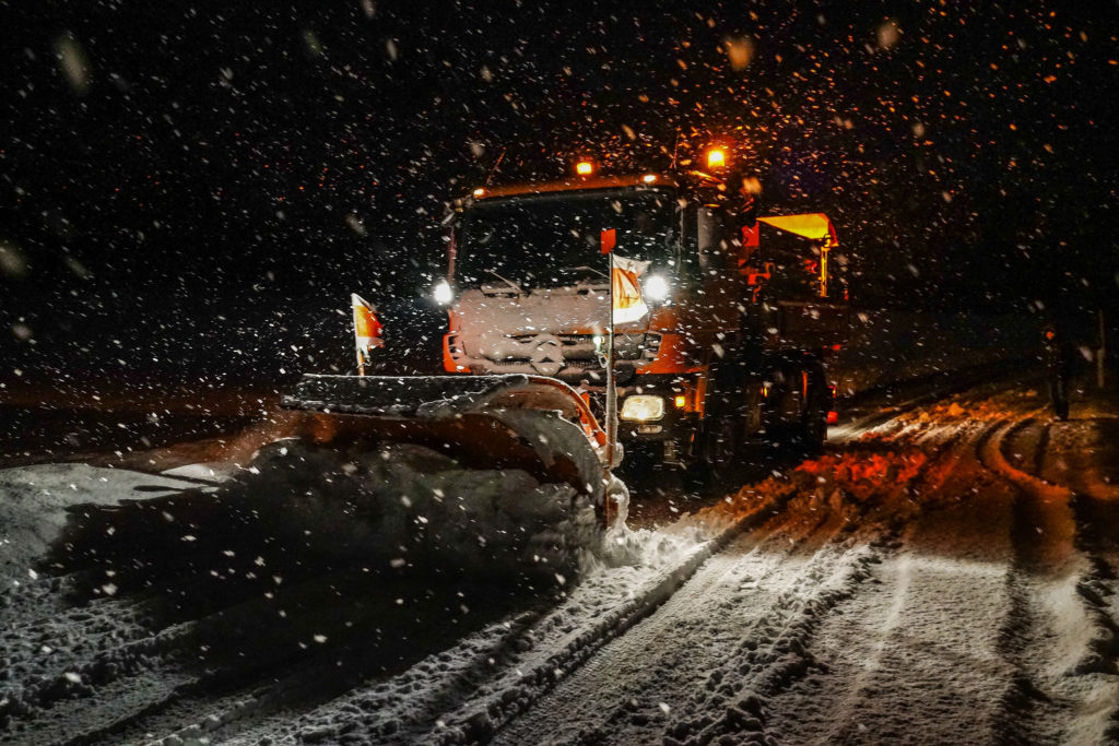 State funding cuts mean less money for plowing this winter