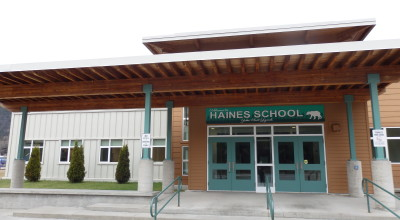 The Haines Borough has taken out more than $18 million in bonds to pay for a new school and renovations. (Emily Files)