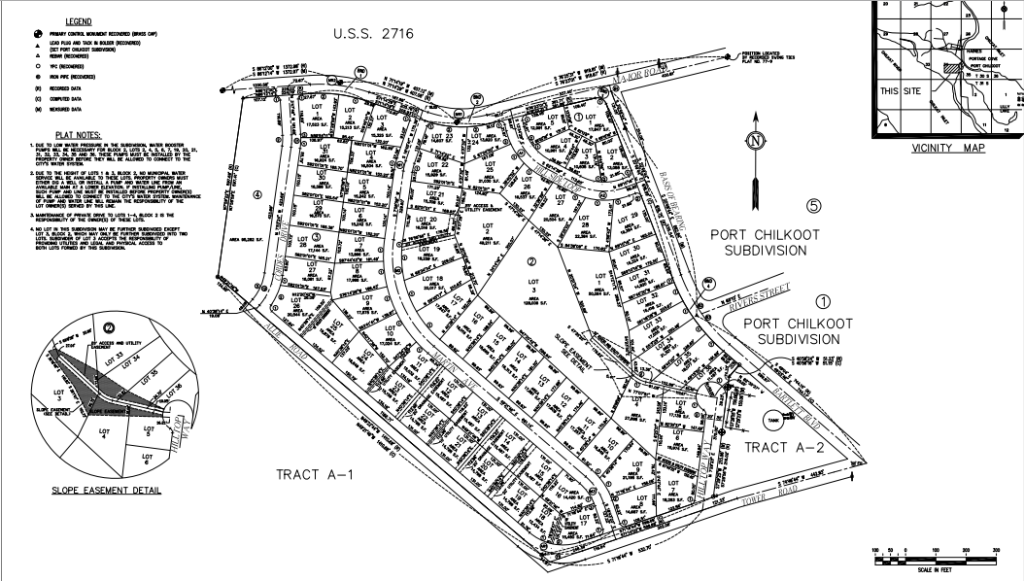The proposed Hill Top Subdivision.