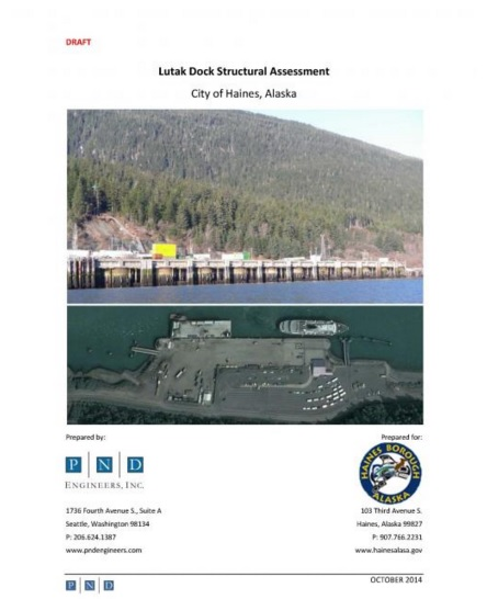 Draft RFP means progress for Lutak Dock