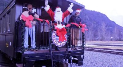 The 2014 Santa Train. (Emily Files)