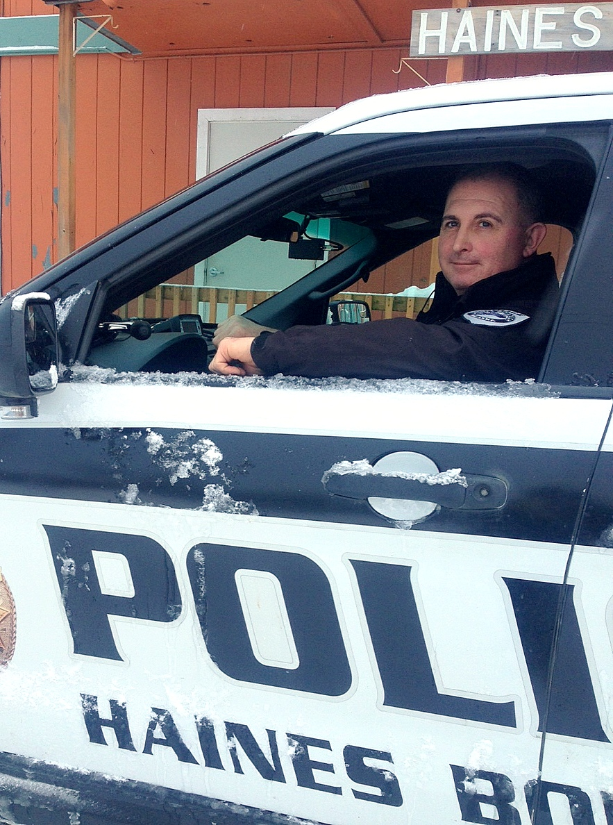 Ride along with Haines' newest police officer