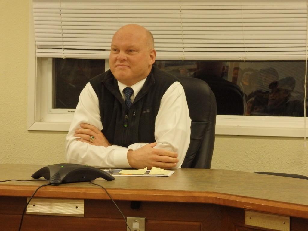 Ferry chief Mike Neussl. (Jillian Rogers)