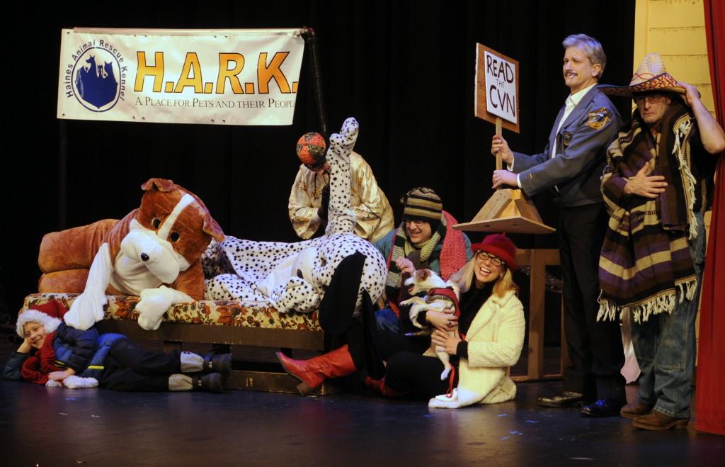 The skit 'HARK makes a family happy!' (Jillian Rogers)