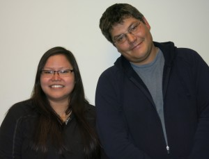 Jessie Morgan and John Hagen. (StoryCorps and Juneau Public Libraries)
