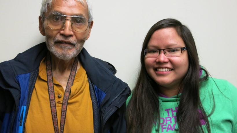 Albert Morgan with daughter, Jessie Morgan. (Credit: StoryCorps)