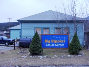 The Big Dippers Senior Center, which serves as a temporary gathering place in the winter. (Emily Files)