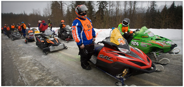 The 2009 starting line of the Alcan 200. (Alcan 200 website)