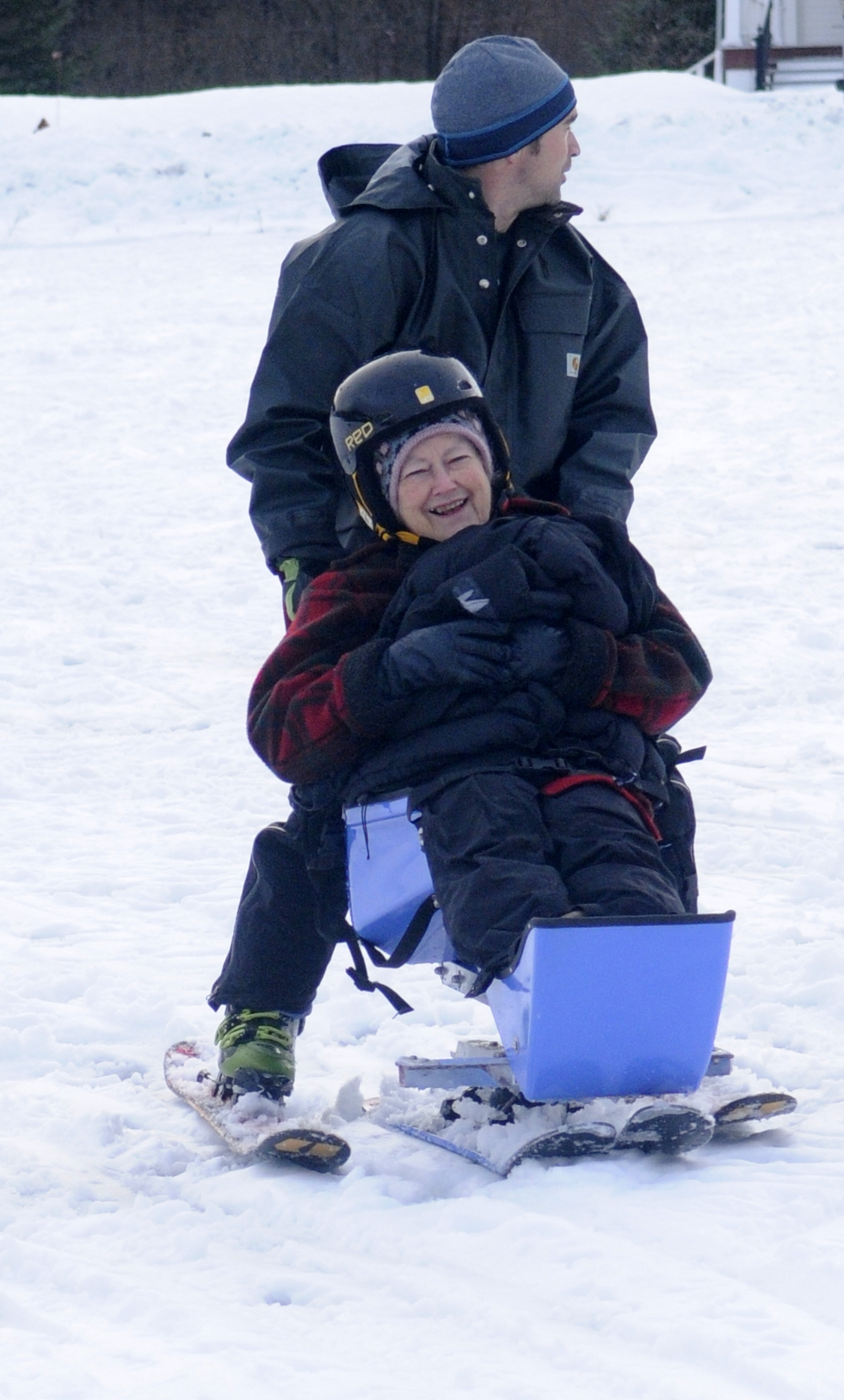 Adaptive skiing offers freedom for young and old