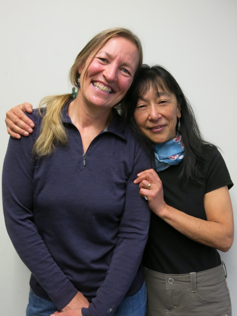 Patty Kermoian and Jeanne Kitayama. (StoryCorps)