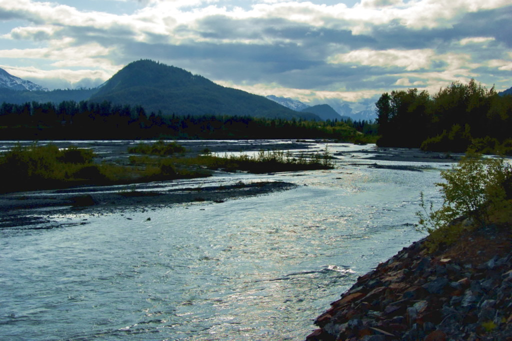 The Chilkat River in 2009. The river is one of the four bodies of water nominated for Tier 3 protection. (Dave Bezaire/Flickr Creative Commons)