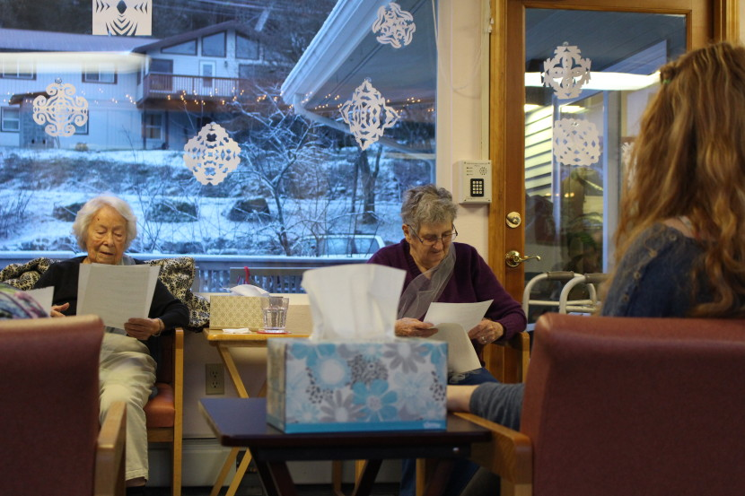 The Bridge in Juneau is one of two formalized adult day programs in Southeast. The program costs $180 a day and accepts Medicaid waivers. (Photo by Elizabeth Jenkins/KTOO)