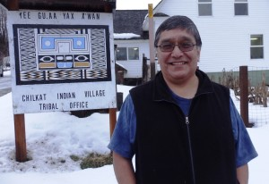 Jones Hotch Jr. is the tribal council president of the Chilkat Indian Village in Klukwan. (Emily Files)