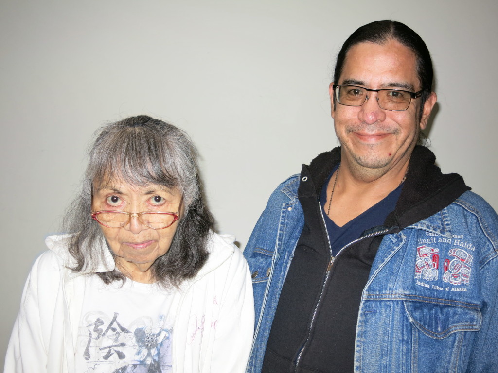 Paulina Phillips and her son Stich Phillips. (Courtesy StoryCorps)