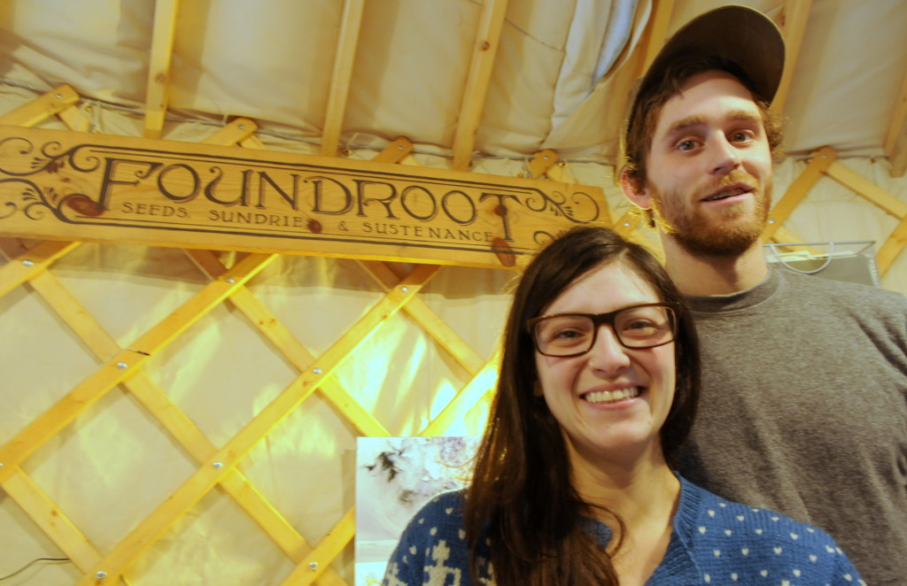 Leah Wagner and Nick Schlosstein own Foundroot. (Jillian Rogers)