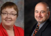 The two finalists for the job of Haines School District Superintendent: Robin Gray and Anthony Habra.